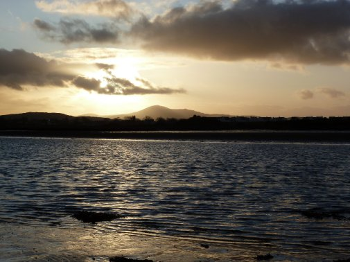 Winter sunset at Culdaff