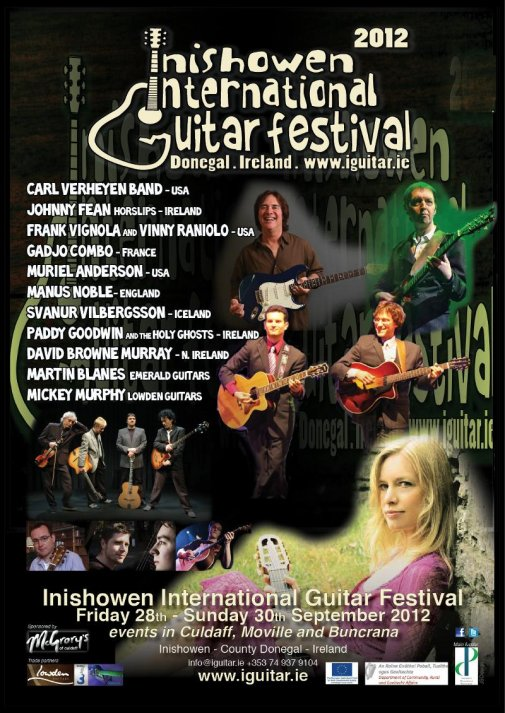 Inishowen International Guitar Festival 2012